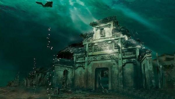 apleistas miestas po vandeniu